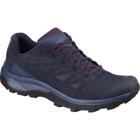 Salomon Outline Schoenen Dames, evening blue/crown blue/potent purple